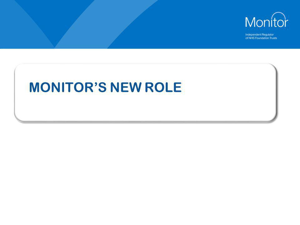 MONITOR'S NEW ROLE