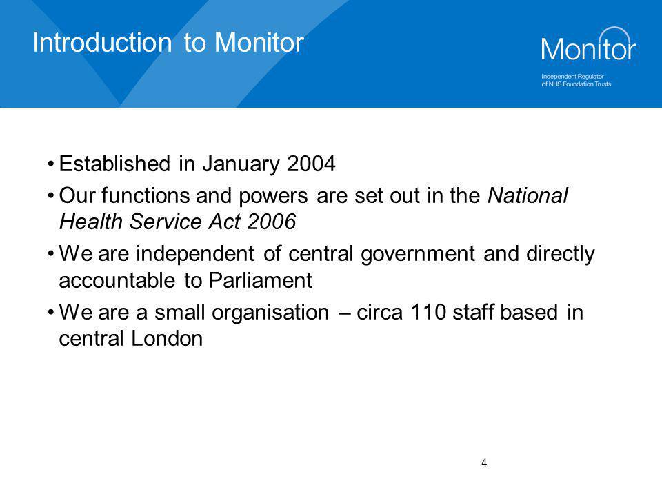 Introduction to Monitor