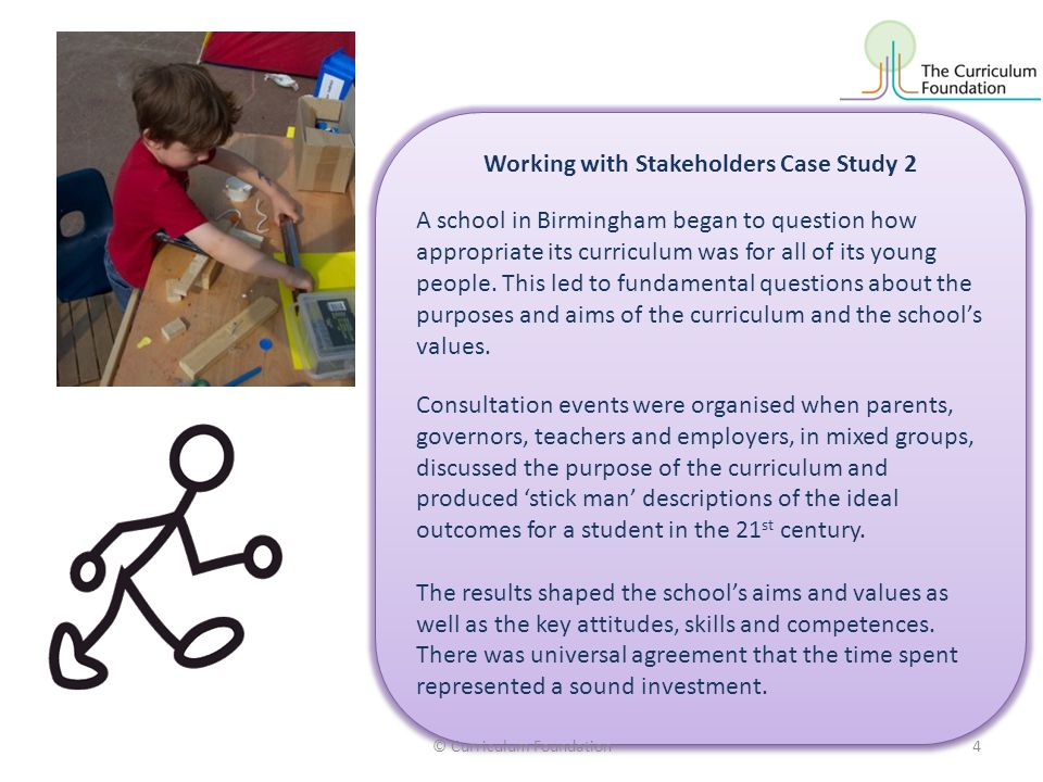 Working with Stakeholders Case Study 2