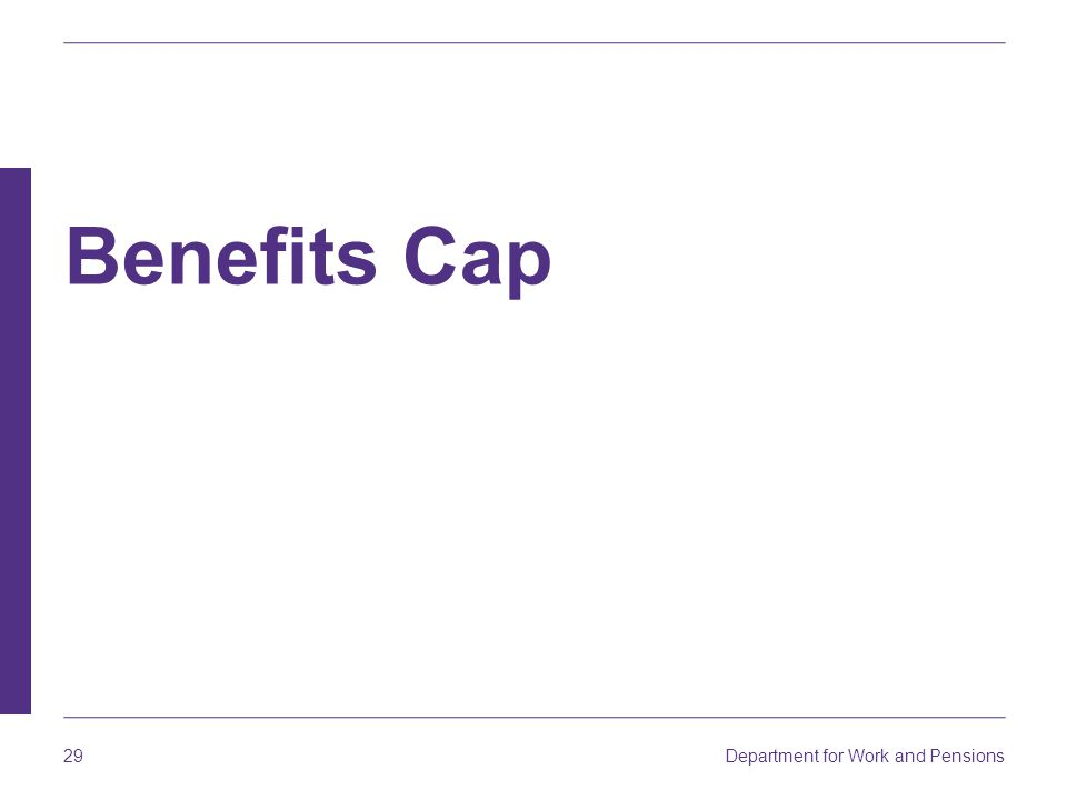 Benefits Cap