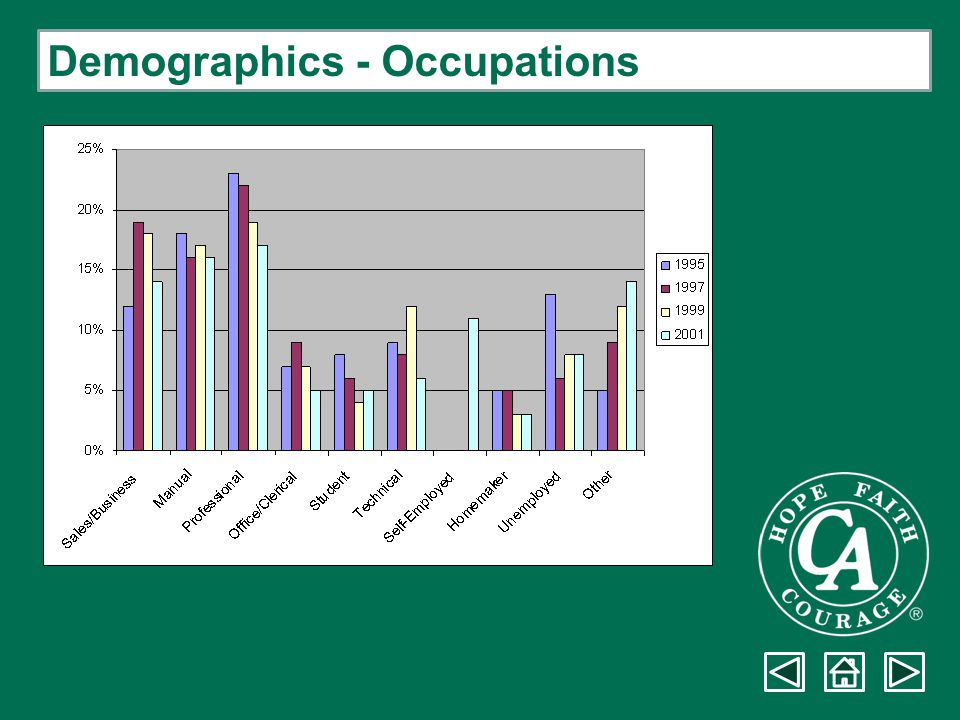 Demographics - Occupations