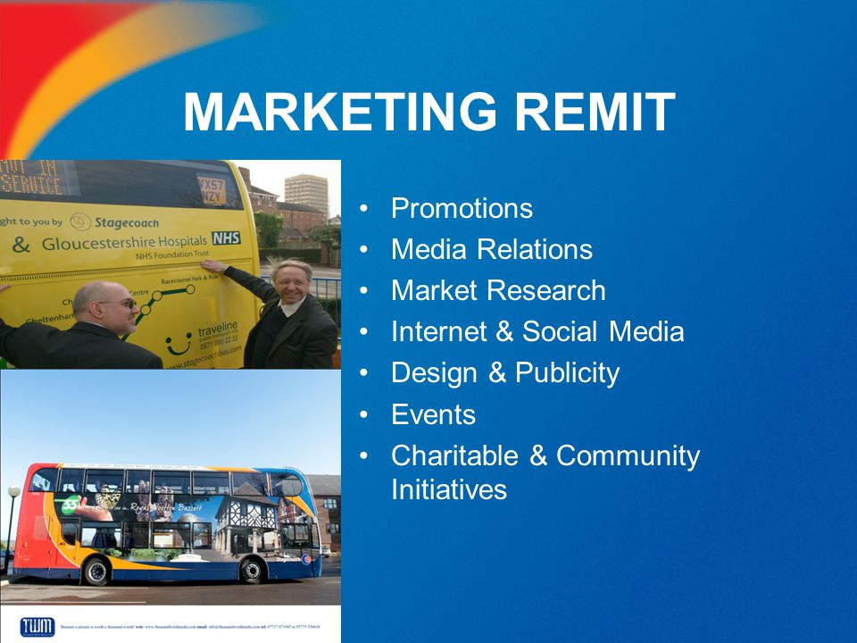 MARKETING REMIT Promotions Media Relations Market Research