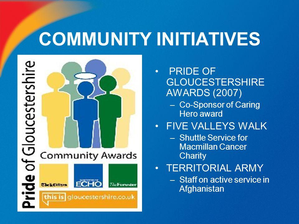 COMMUNITY INITIATIVES