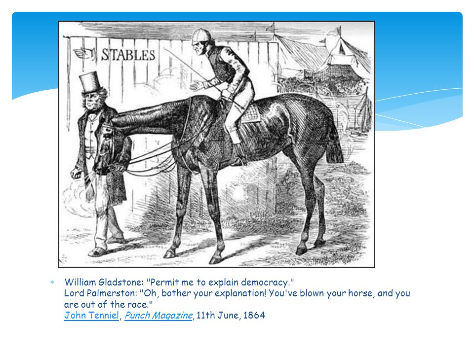 William Gladstone: Permit me to explain democracy