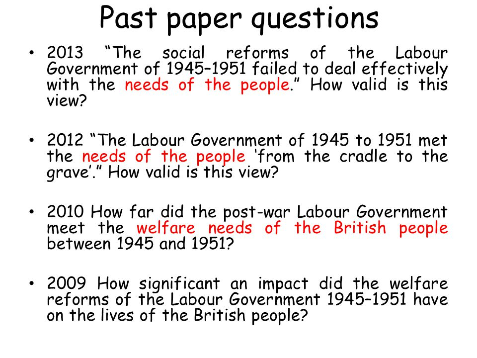 assessment of the labour reforms ppt video online  past paper questions