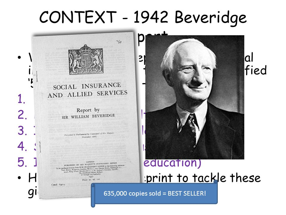 CONTEXT - 1942 Beveridge Report