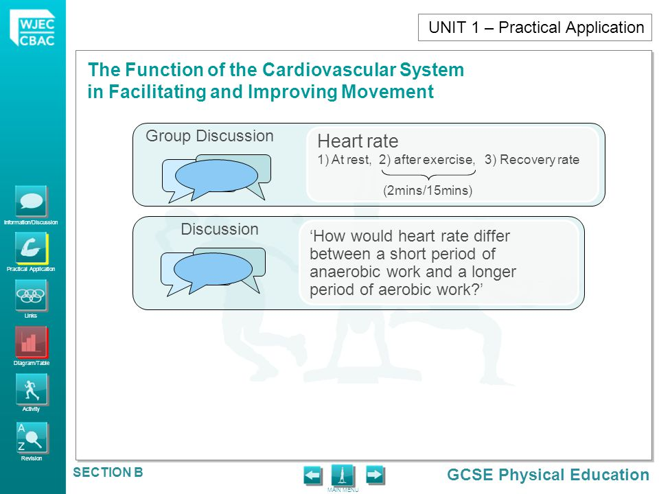 Heart rate UNIT 1 – Practical Application Group Discussion Discussion