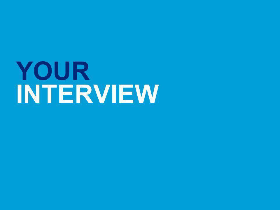YOUR INTERVIEW Hays Senior Finance Thursday 21st October 2010
