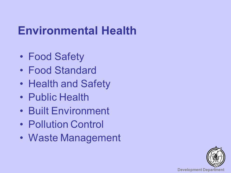 Environmental Health Food Safety Food Standard Health and Safety