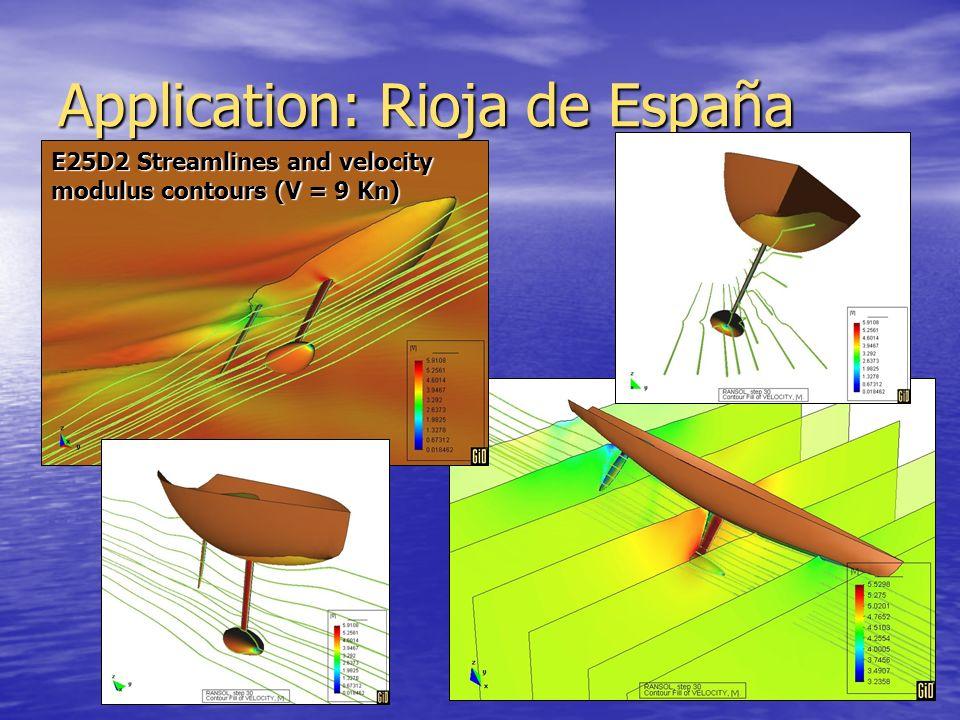 Application: Rioja de España