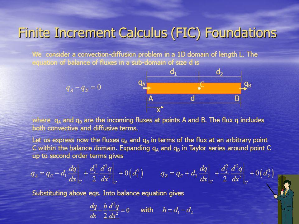 Finite Increment Calculus (FIC) Foundations