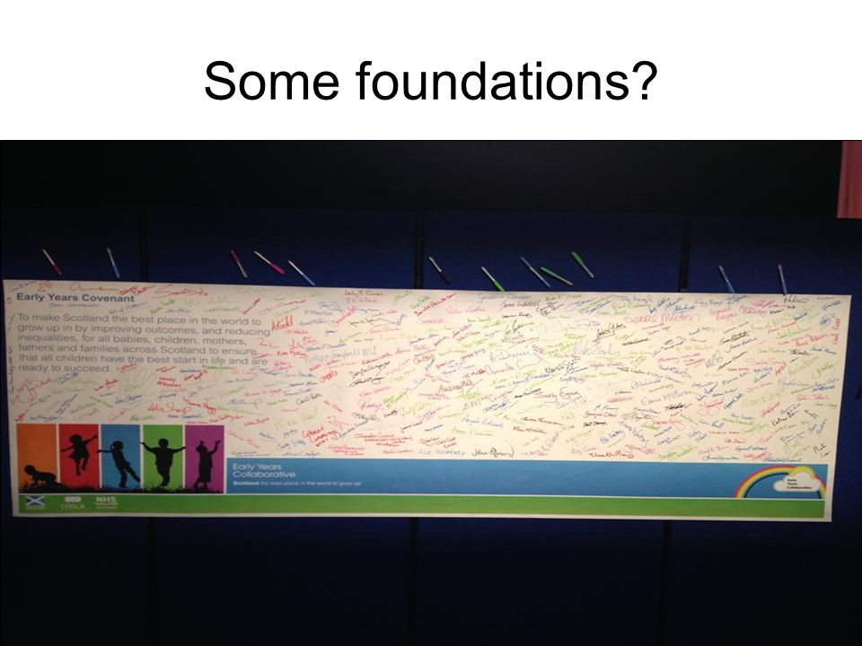 Some foundations