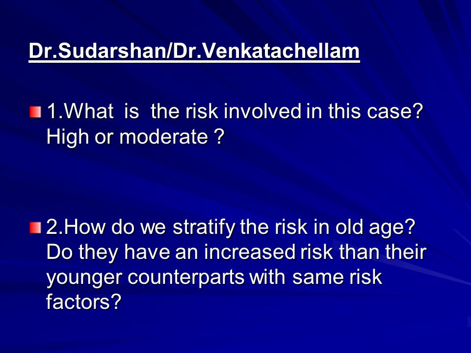 Dr.Sudarshan/Dr.Venkatachellam