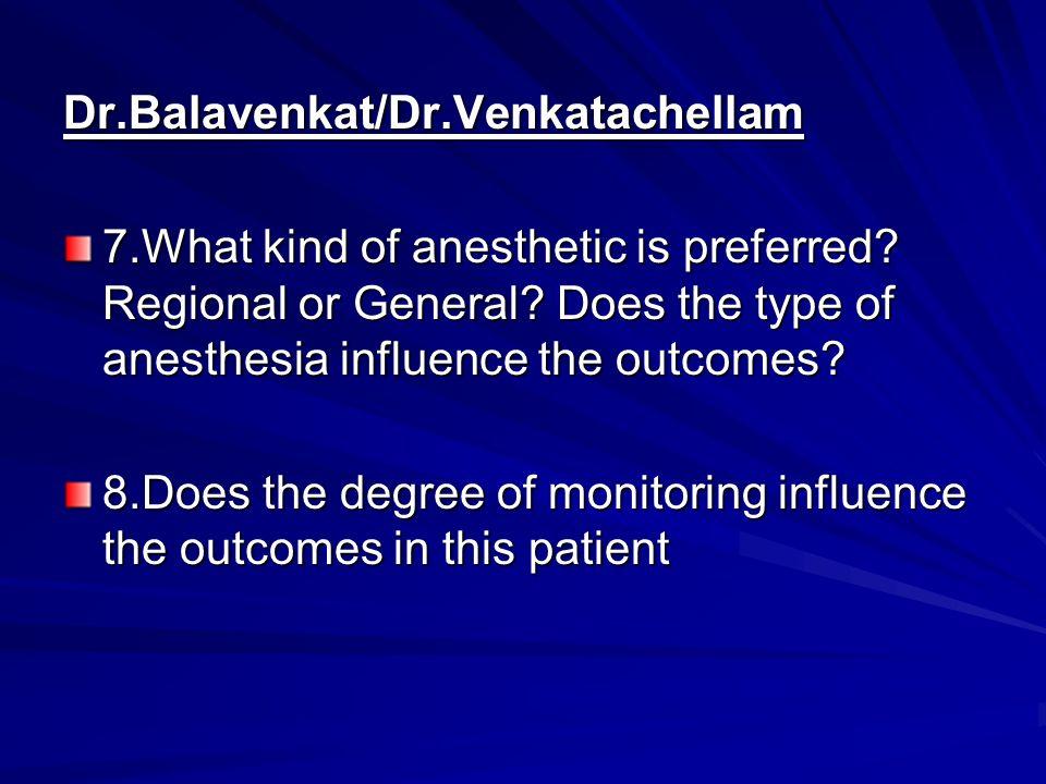 Dr.Balavenkat/Dr.Venkatachellam