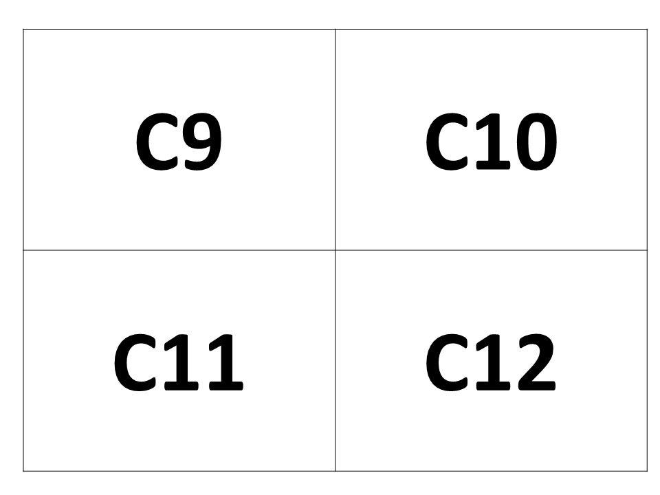 C9 C10 C11 C12