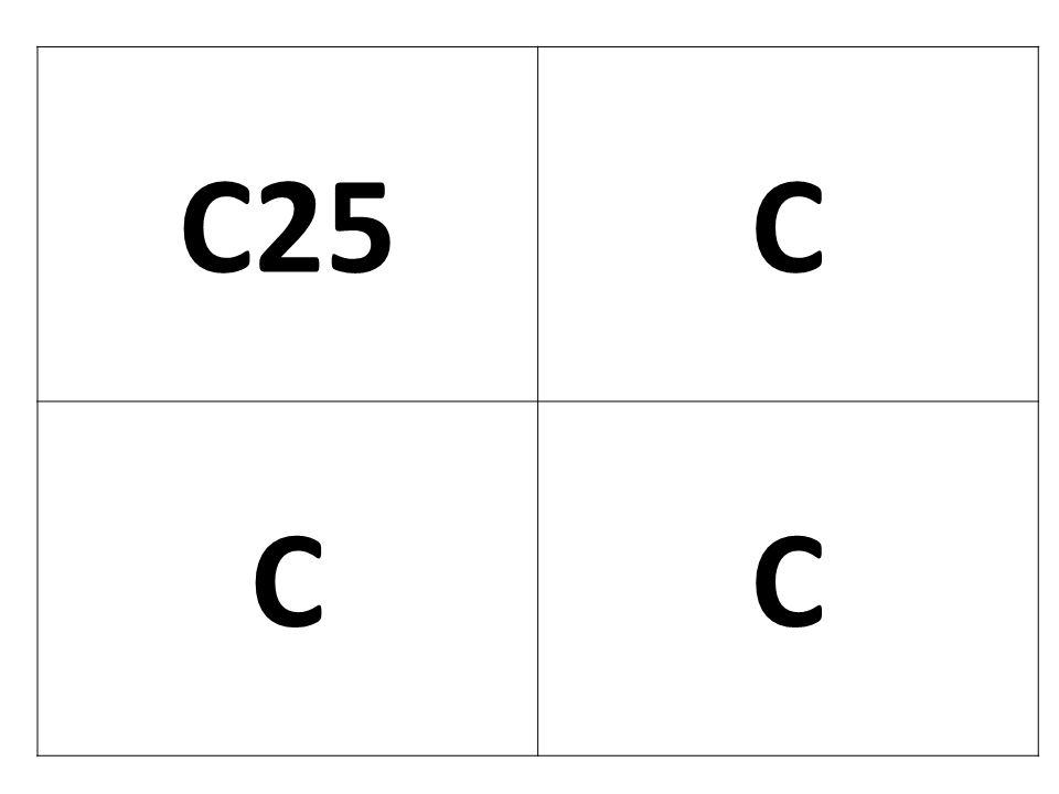 C25 C