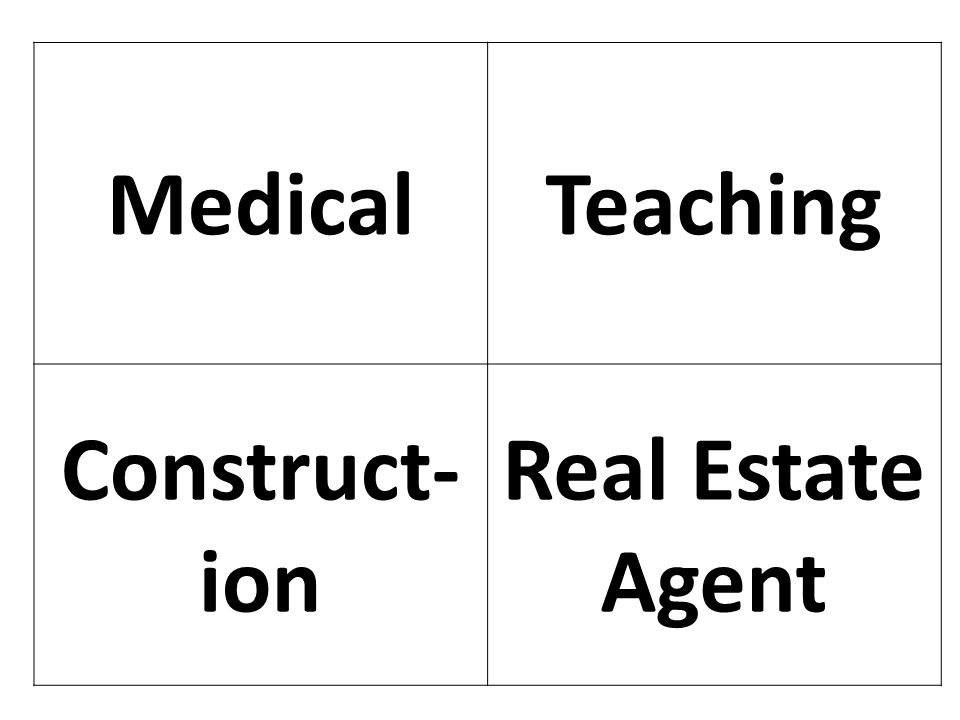 Medical Teaching Construct-ion Real Estate Agent