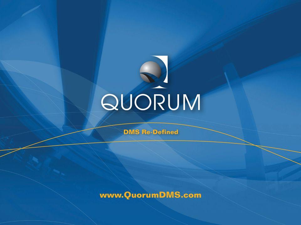 Quorum Confidential