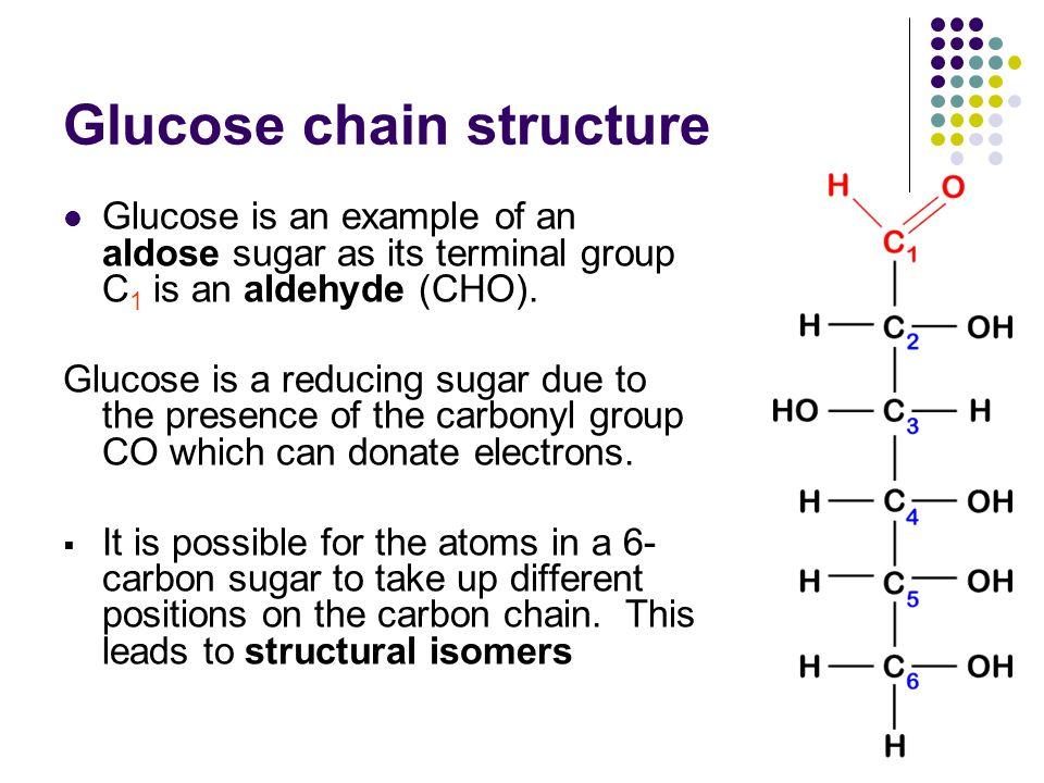 Glucose chain structure