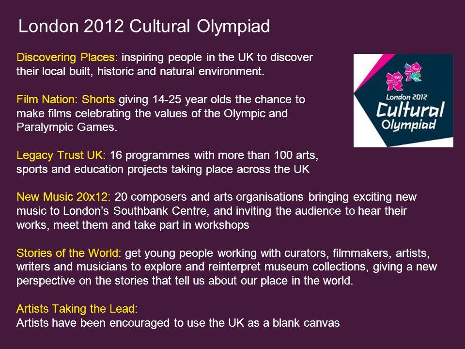London 2012 Cultural Olympiad