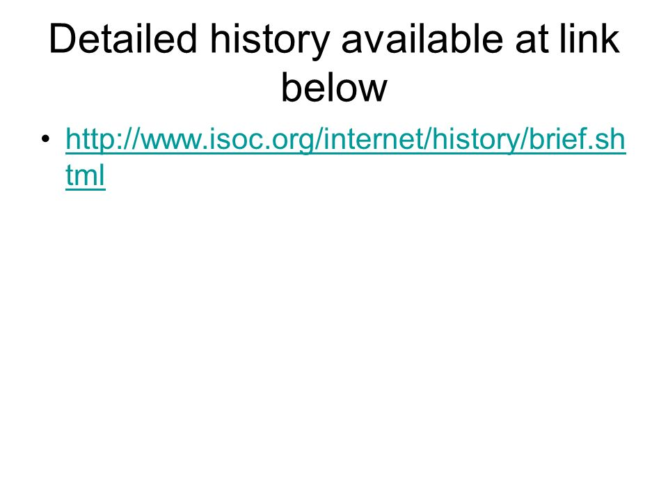 Detailed history available at link below