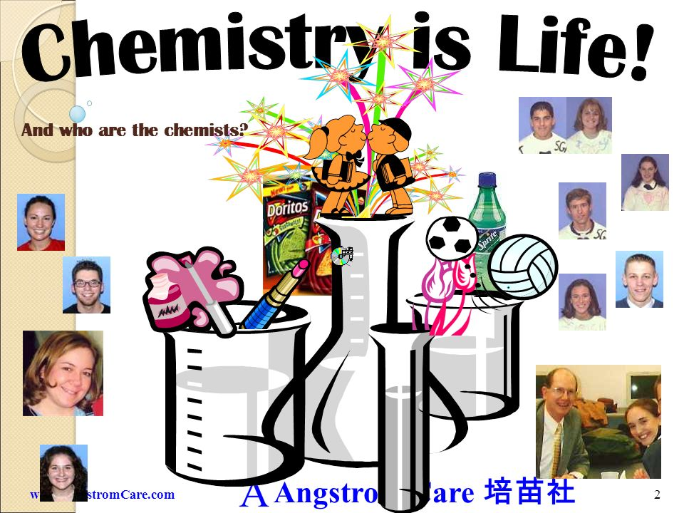 And who are the chemists