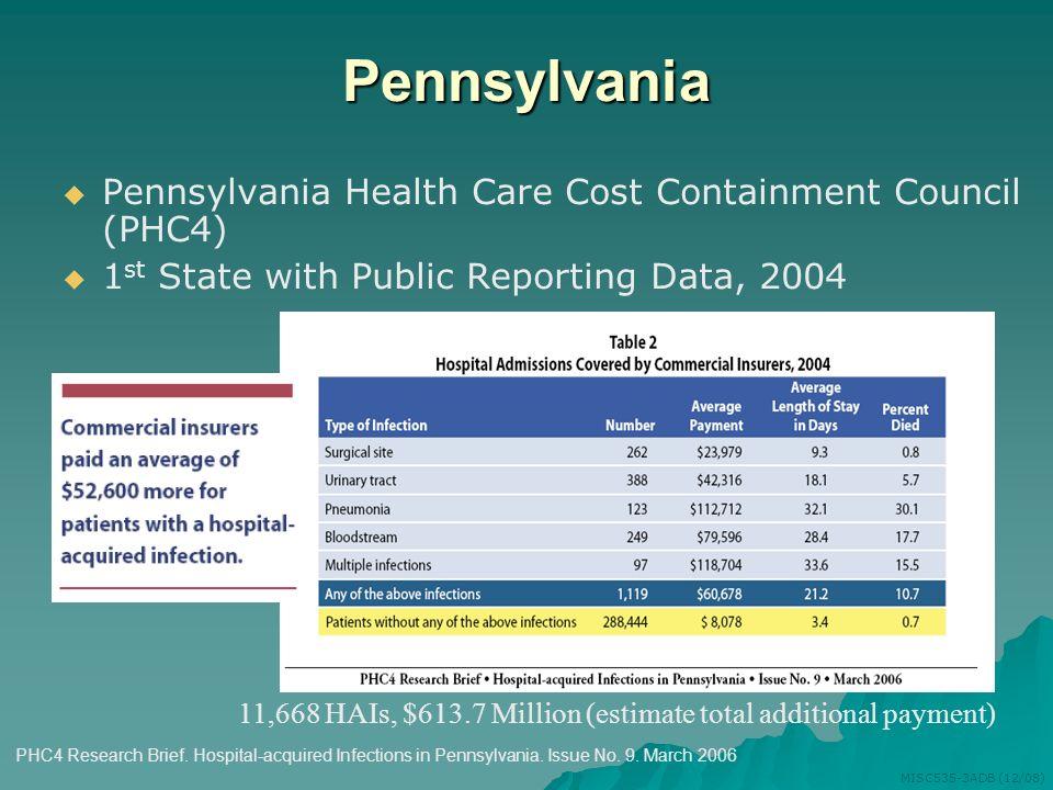 Pennsylvania Pennsylvania Health Care Cost Containment Council (PHC4)