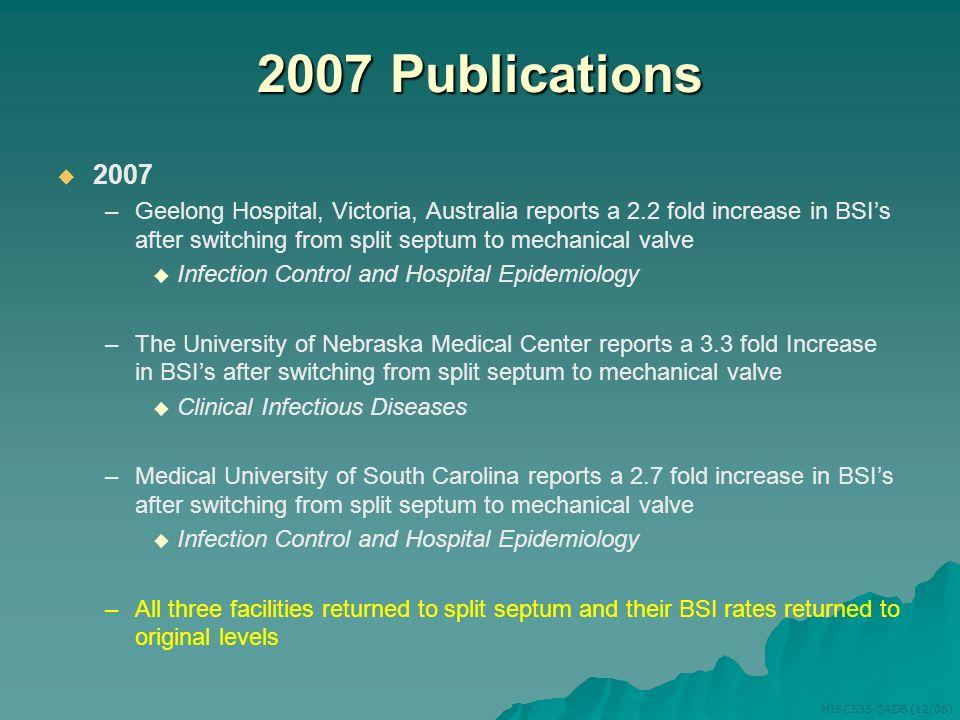 2007 Publications 2007.