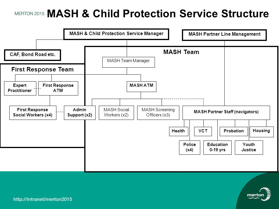 MASH & Child Protection Service Structure