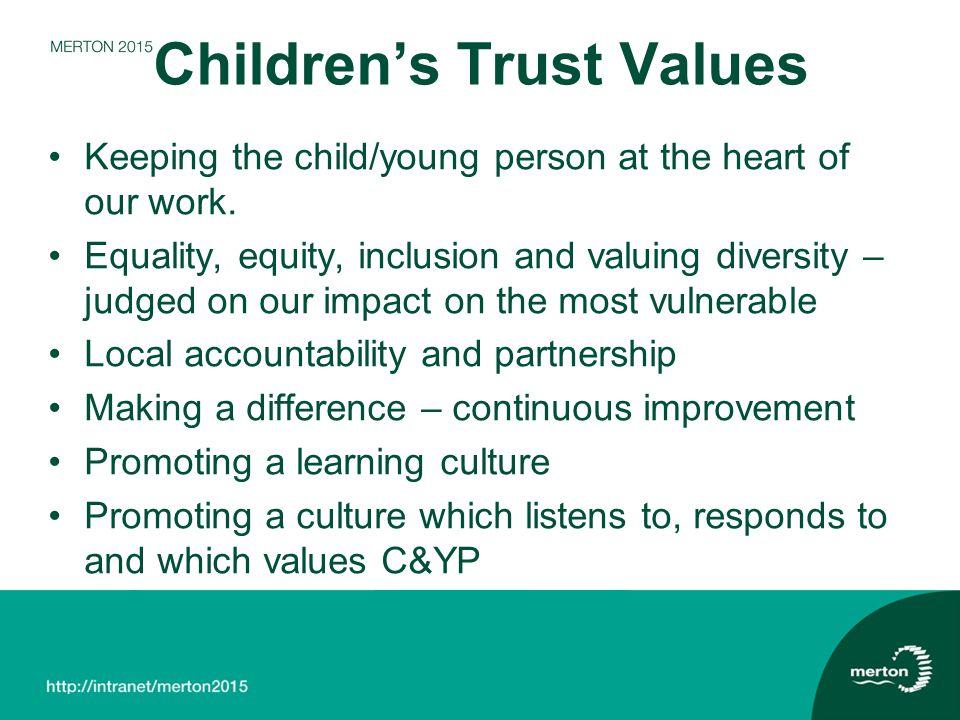 Children's Trust Values