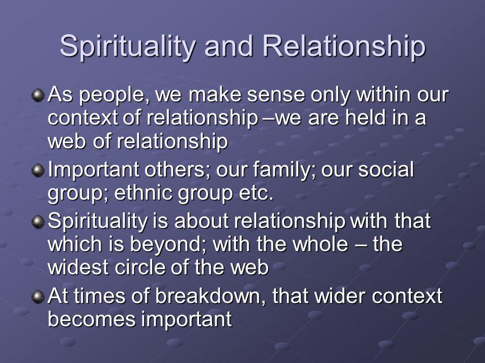 Spirituality and Relationship
