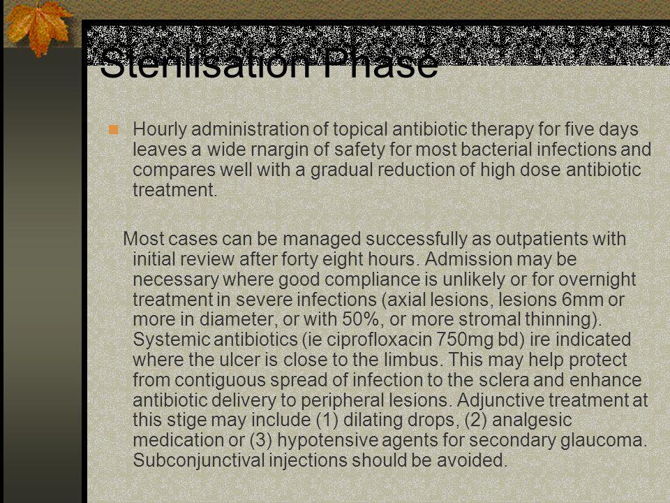 Sterilisation Phase