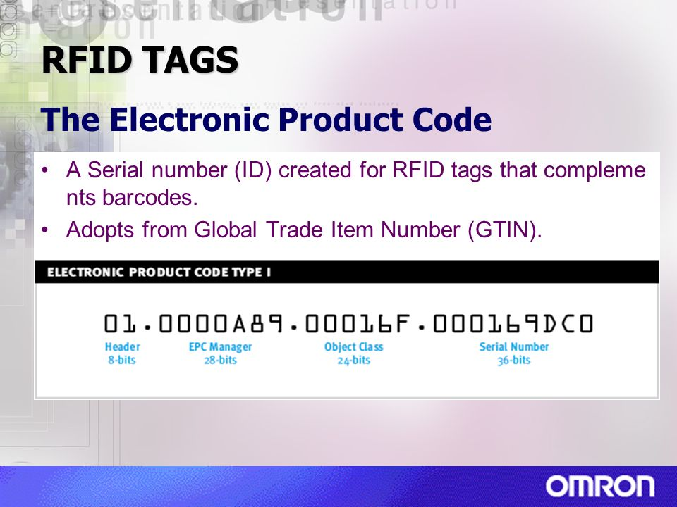 The Electronic Product Code