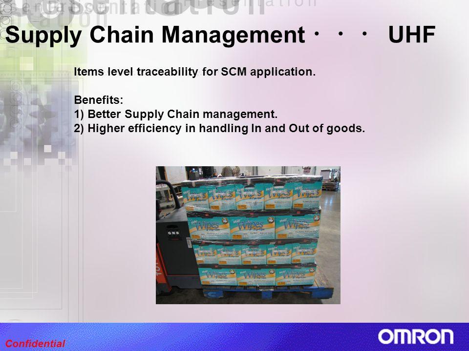 Supply Chain Management ・・・ UHF