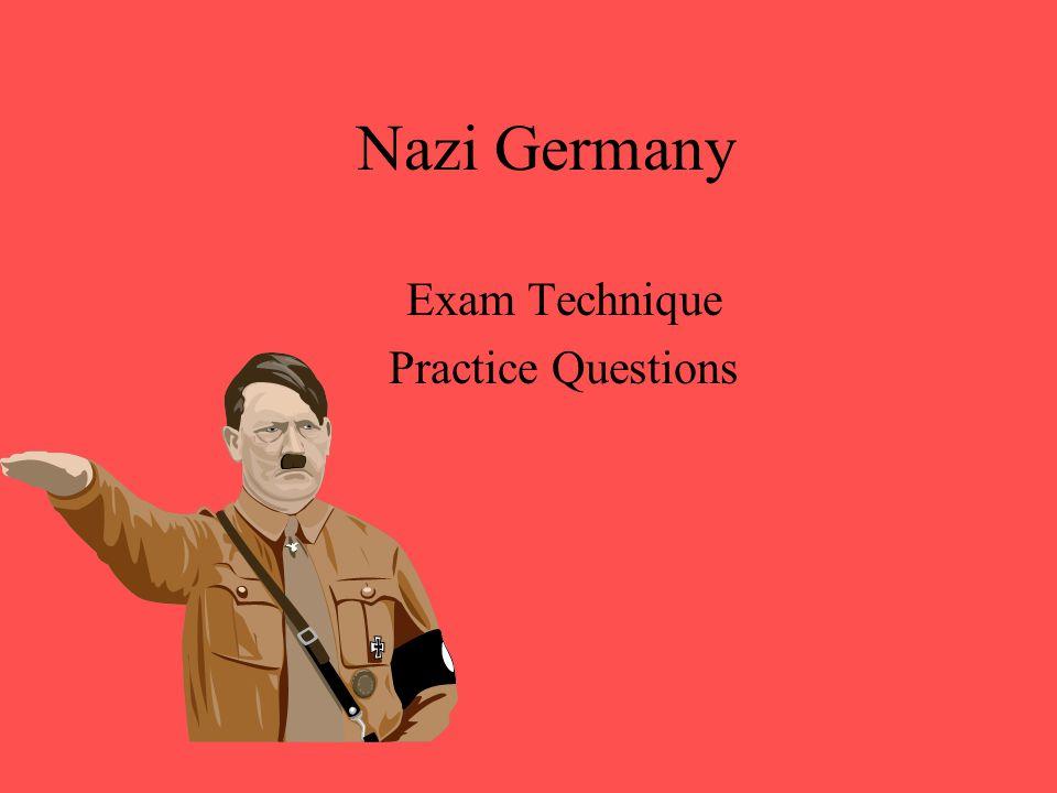 Exam Technique Practice Questions