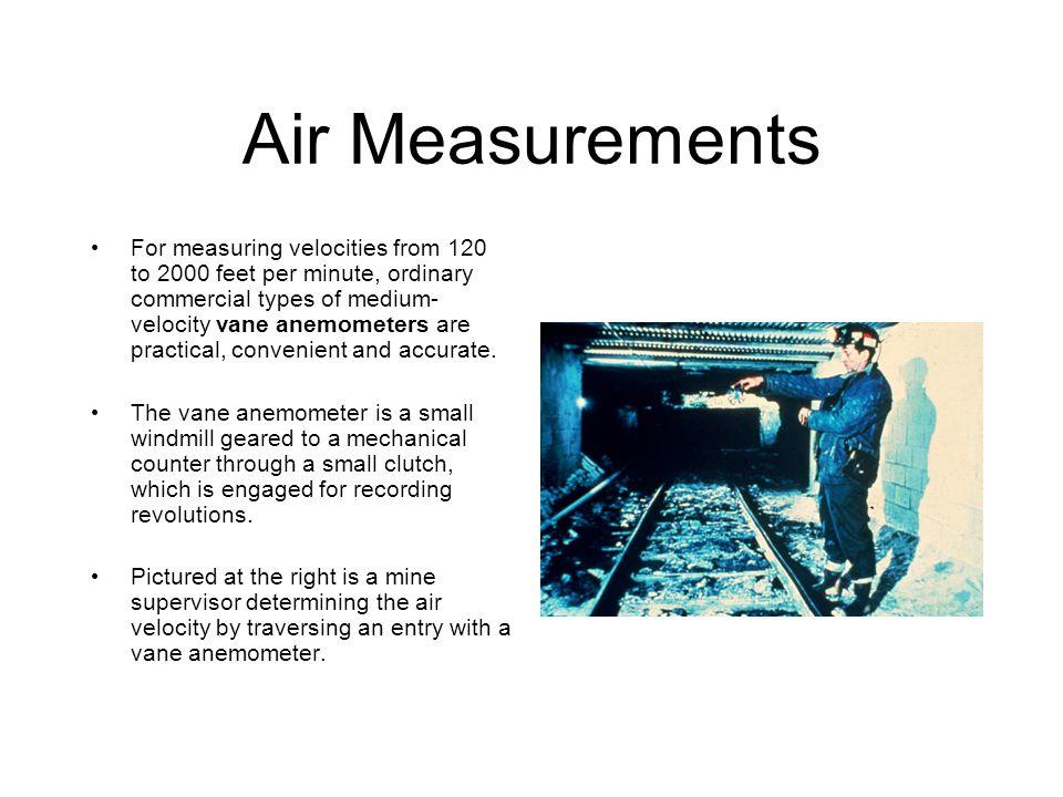 Air Measurements