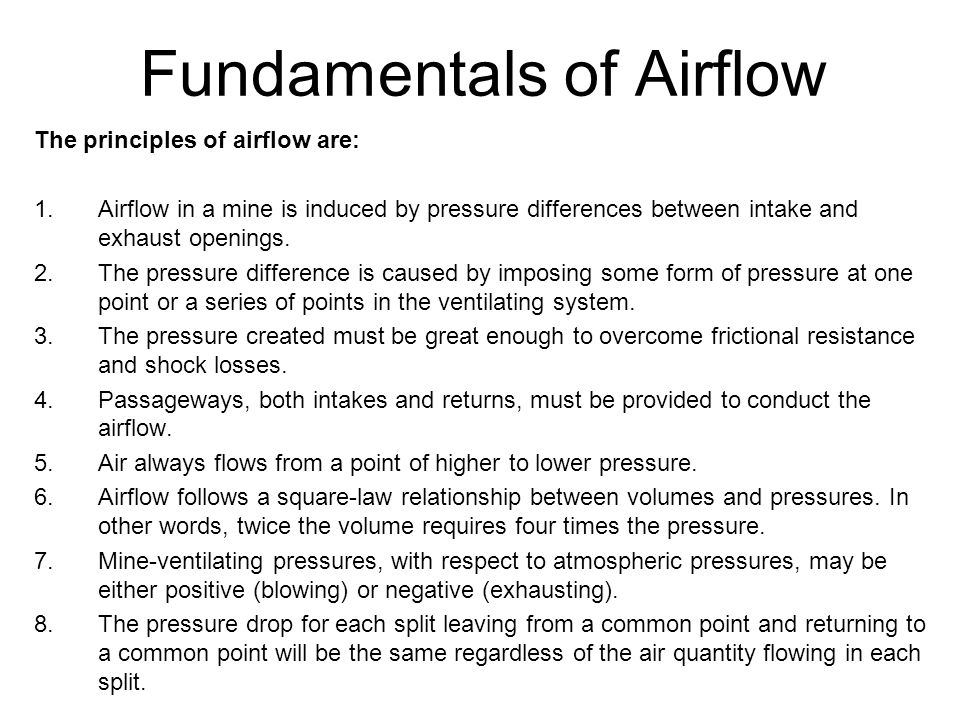 Fundamentals of Airflow