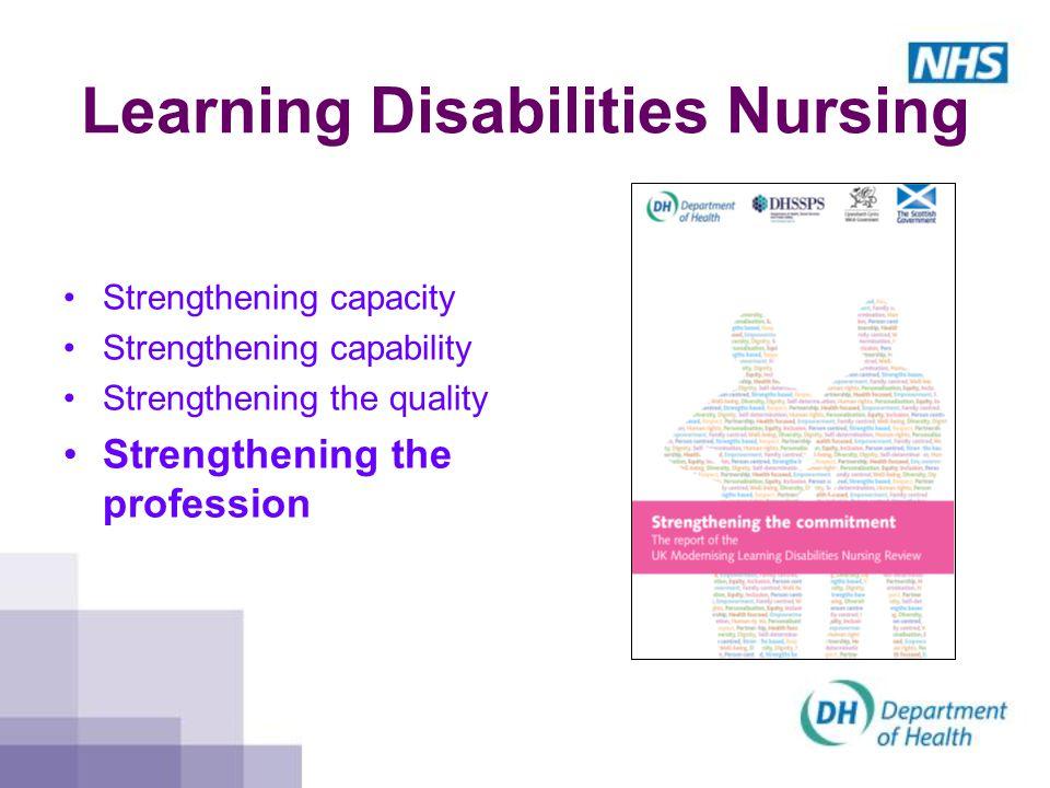 Learning Disabilities Nursing