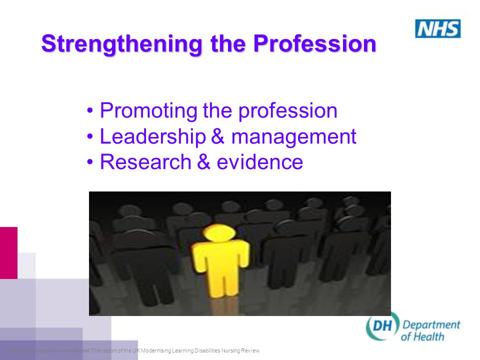 Strengthening the Profession