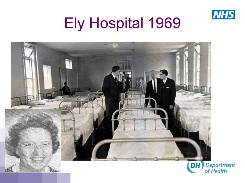 Ely Hospital 1969
