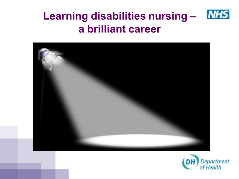Learning disabilities nursing – a brilliant career