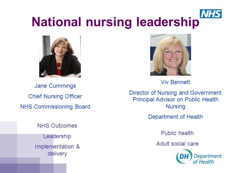 National nursing leadership