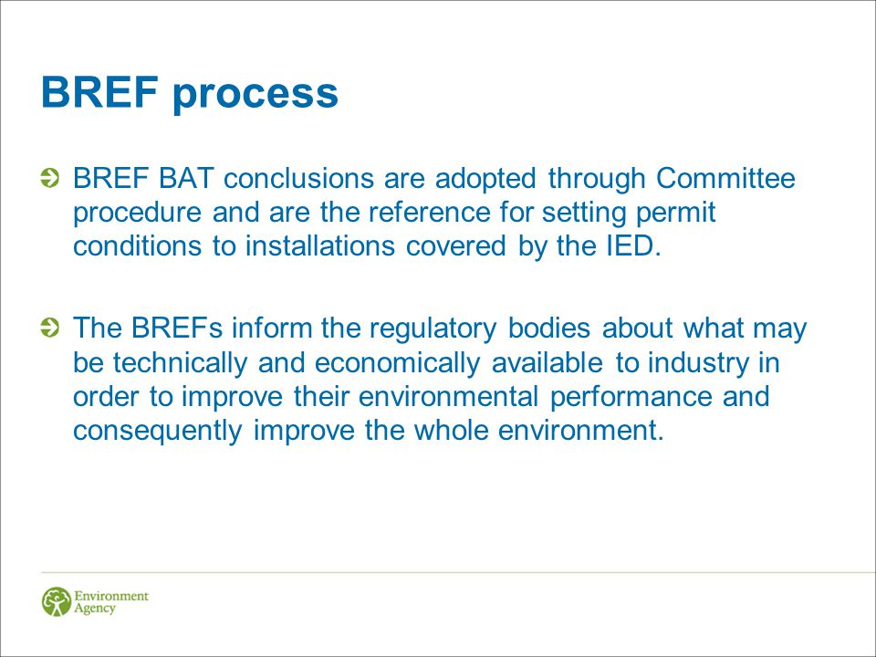 BREF process