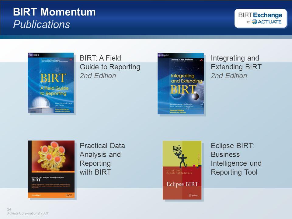 BIRT Momentum Publications
