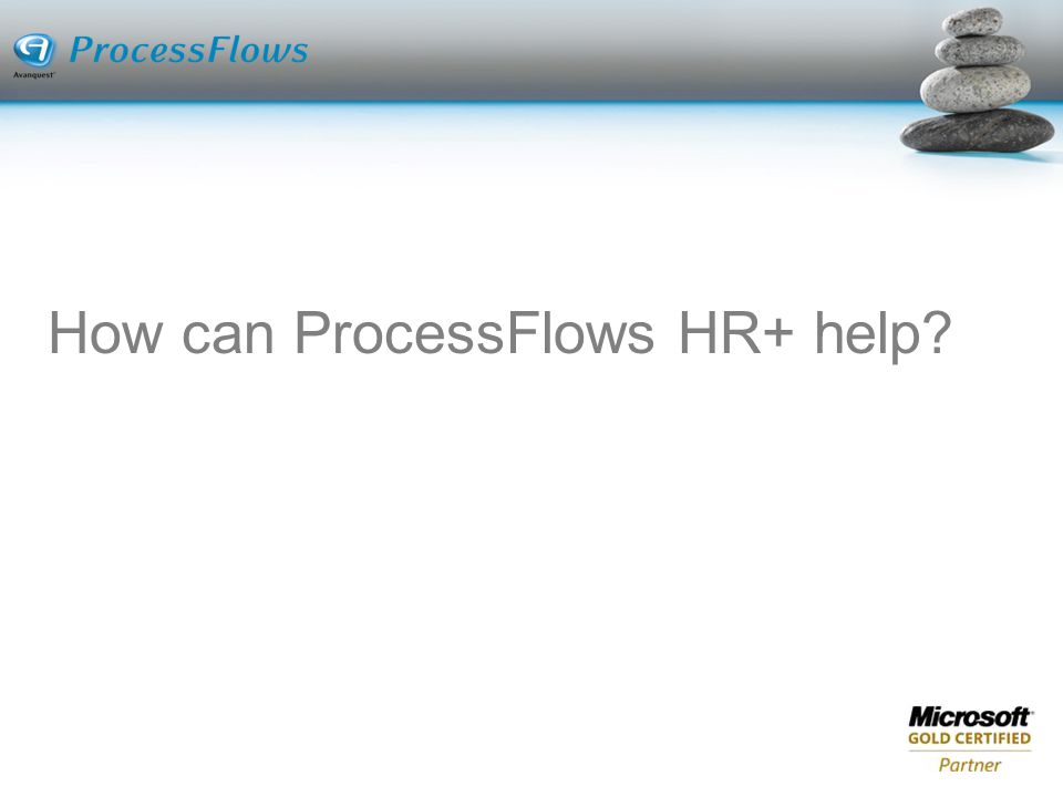 How can ProcessFlows HR+ help