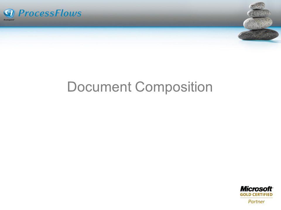 Document Composition