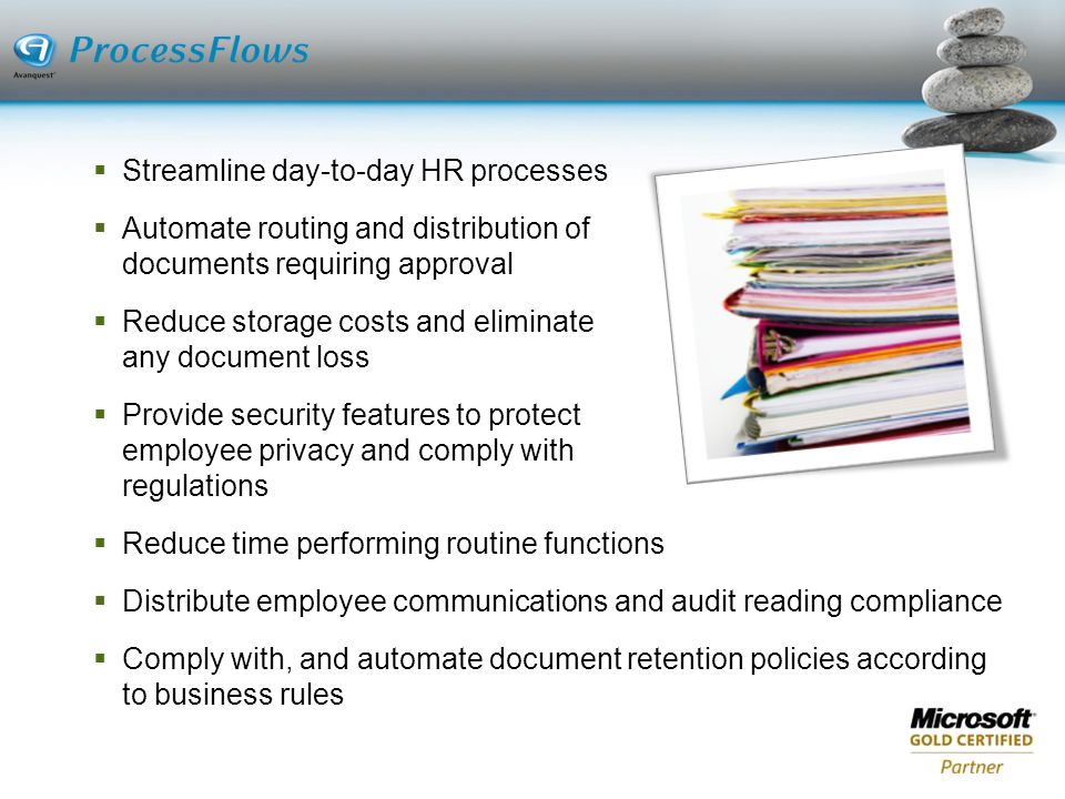 Streamline day-to-day HR processes