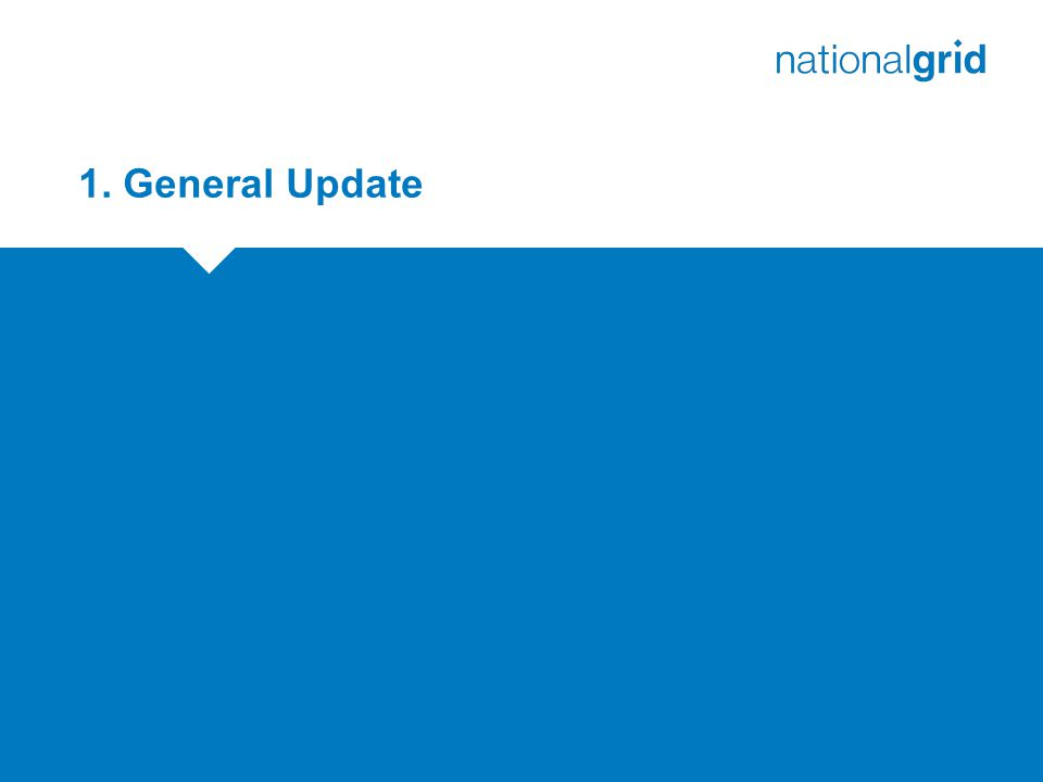 1. General Update