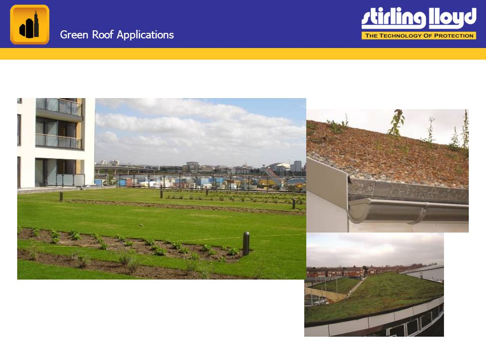 Green Roof Applications