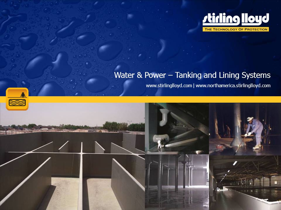 Water & Power – Tanking and Lining Systems